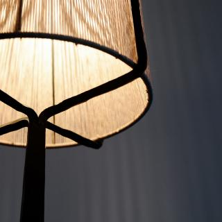Composers' house lamp аnd furniture